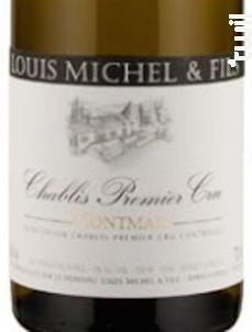 CHABLIS 1er cru Montmains - Louis Michel et Fils - 2015 - Blanc