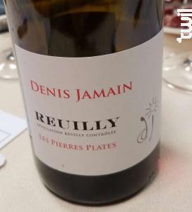 Les Pierres Plates - DENIS JAMAIN - 2018 - Rouge