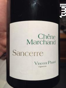 Chêne Marchand - Domaine Vincent Pinard - 2013 - Blanc