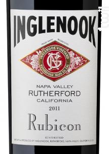 Rubicon - Inglenook - 2011 - Rouge