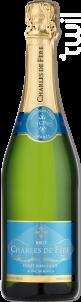 Cuvée Jean-Louis Blanc de Blancs - Charles De Fère - Non millésimé - Effervescent