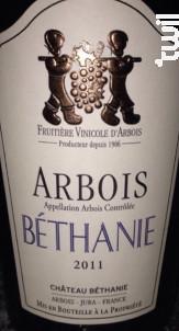 Arbois Cuvée Béthanie - Château Béthanie - 1997 - Blanc