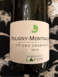 Puligny-Montrachet Premier Cru Champ Gain - Dominique Lafon - 2014 - Blanc