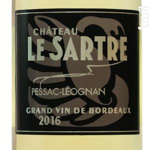 Château le Sartre - Château Le Sartre - 2016 - Blanc