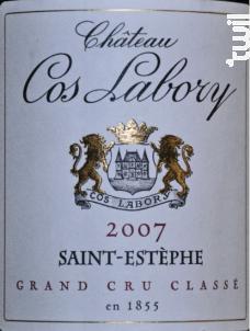 Château Cos Labory - Château Cos Labory - 2007 - Rouge