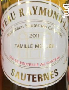 Château Raymond-Lafon - Château Raymond-Lafon - 2016 - Blanc
