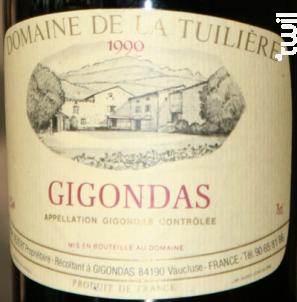 Domaine De La Tuiliere - Domaine La Tuilière - 1990 - Rouge