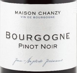 Bourgogne Pinot Noir - Maison Chanzy - 2014 - Rouge