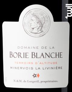 Domaine de la Borie Blanche - Terroirs d'Altitude - Maison Lorgeril - 2015 - Rouge