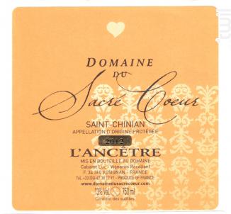 Cuvée l'Ancêtre - Domaine du Sacré Coeur - 2017 - Rouge