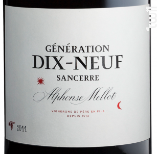 Génération XIX - Alphonse Mellot - 2006 - Rouge