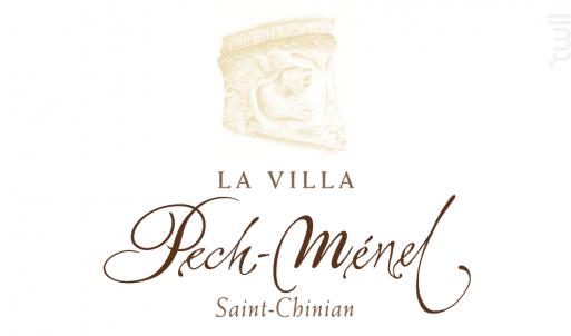 La Villa Pech Ménel - Domaine Pech-Ménel - 2011 - Rouge