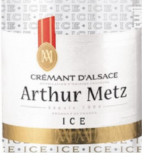 Crémant ICE - Arthur Metz - Non millésimé - Effervescent