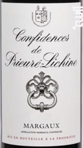 Confidences de Prieuré-Lichine - Château Prieuré-Lichine - 2016 - Rouge