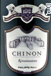 Cuvée Renaissance - Domaine de La Commanderie - 2013 - Rouge