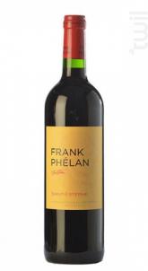 Frank Phélan - Château Phélan Ségur - 2015 - Rouge