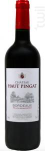 Château Haut Pingat - Château Haut-Pingat - 2018 - Rouge