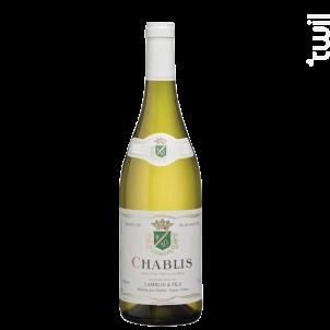 Chablis - Domaine Lamblin et Fils - 2019 - Blanc
