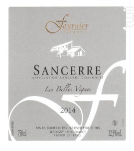 Sancerre Les Belles Vignes - FOURNIER Père & Fils - 2015 - Rouge