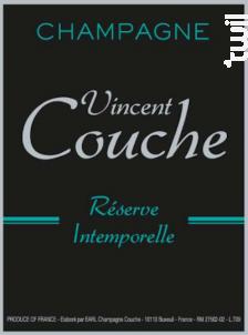 Réserve Intemporelle - Champagne Vincent Couche - Non millésimé - Effervescent