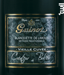 Blanquette Vieille Cuvée Demi-Sec - Maison Guinot depuis 1875 - Non millésimé - Effervescent
