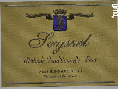 Seyssel Brut - Aimé Bernard & Fils - 2016 - Effervescent