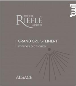 Alsace Grand Cru Steinert Pinot Gris - Domaine Rieflé-Landmann - 2016 - Blanc
