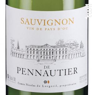 Sauvignon de Pennautier - Maison Lorgeril - 2018 - Blanc