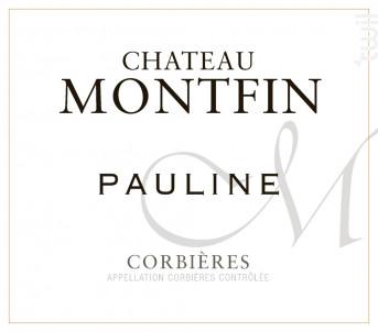 CHATEAU MONTFIN Cuvée Pauline - Château Montfin - 2015 - Rouge
