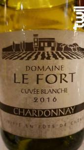 Domaine le Fort - Cuvée blanche - Domaine le Fort - 2015 - Blanc
