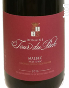 Malbec - Domaine La Tour du Pech - 2016 - Rouge