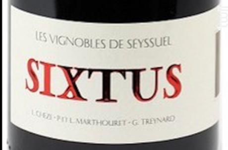 Sixtus - Domaine Louis Cheze - 2015 - Rouge