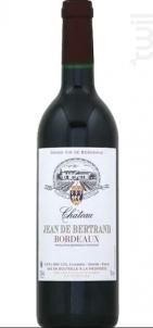 Château Jean de Bertrand - Château Jean de Bertrand - 2018 - Rouge