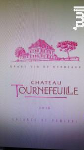 Château Tournefeuille - Vignobles Tournefeuille - 2016 - Rouge