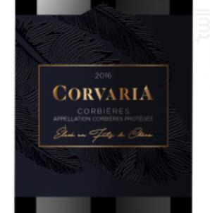 Corvaria - Les Terroirs du Vertige - 2016 - Rouge