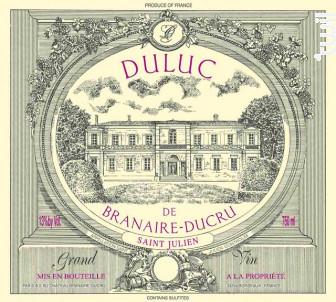 Duluc de Branaire-Ducru - Château Branaire-Ducru - 2009 - Rouge