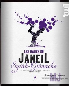 Les Hauts de Janeil Syrah Grenache - François Lurton - Mas Janeil - 2017 - Rouge