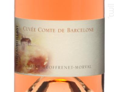COMTE DE BARCELONE - Vignobles Joseph Mellot - 2016 - Rosé