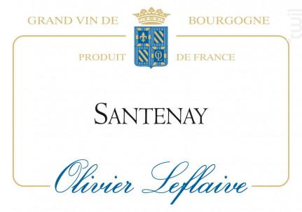 Santenay - Maison Olivier Leflaive - 2014 - Rouge