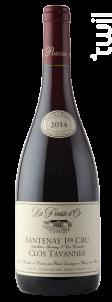 SANTENAY 1er cru Clos de Tavannes - Domaine de la Pousse d'Or - 2015 - Rouge