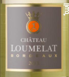 Château Loumelat - Château Loumelat - 2016 - Blanc