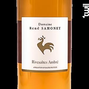 Rivesalte Ambré - Domaine René Sahonet - Non millésimé - Rouge