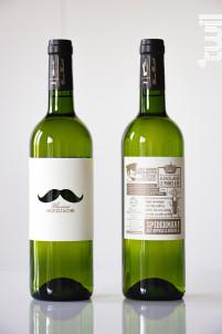 Monsieur Moustache - Unexpected Wine - 2016 - Blanc