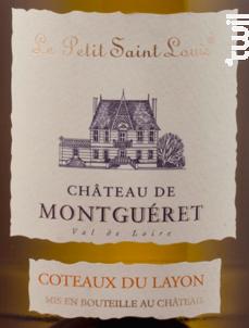 Petit Saint Louis - Château de Montguéret - 2017 - Blanc