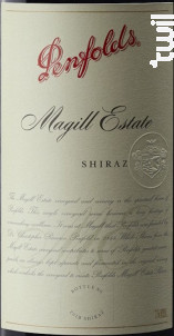 Magill Estate Shiraz - Penfolds - 2015 - Rouge