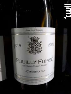 Pouilly-Fuissé - Domaine de La Charmoise - 2018 - Blanc