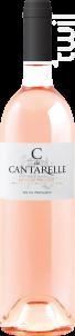 C de Cantarelle - Domaine de Cantarelle - 2017 - Rosé