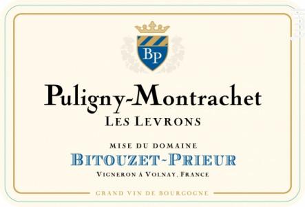 Puligny-Montrachet Les Levrons - Domaine Bitouzet-Prieur - 2017 - Blanc