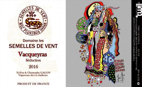 Séduction - DOMAINE LES SEMELLES DE VENT - 2016 - Rouge