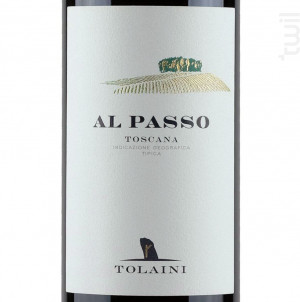 AL PASSO - TOLAINI - 2012 - Rouge